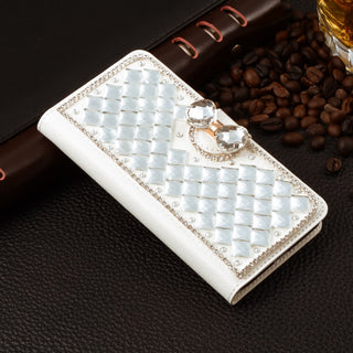 For iPhone 7 plus Case Luxury Rhinestone Case For Apple iPhone 7 plus Wallet Stand Flip Leather Handmade Cover Mobile Phone Bag Deals Blast