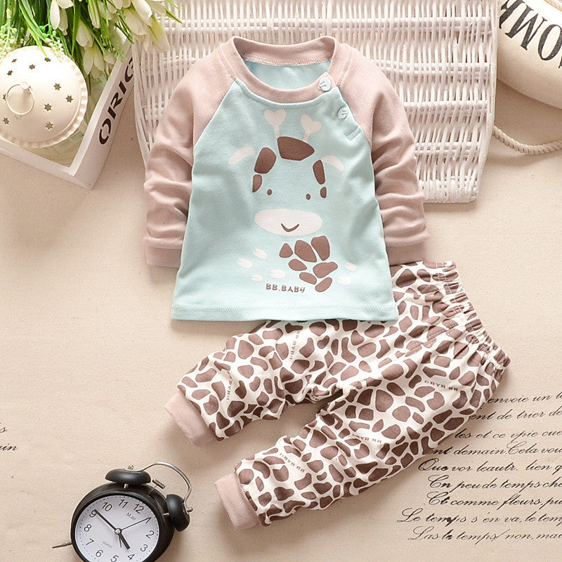 2016 New Newborn Baby Clothing Sets cotton suits Sets children's clothing girls baby boy suits cotton clothes for children Deals Blast