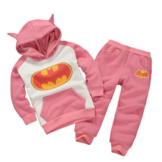 Boy Clothes Set 2016Autumn New Fashion Baby Kids Girls Boys Batman Clothes 2pcs Hoodie Top + Pants Suits Children's Clothing Set Deals Blast