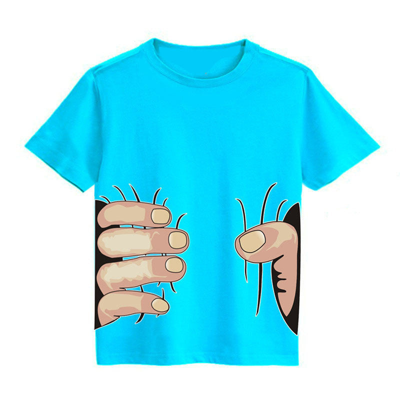 2015 new kids summer style t-shirt, Spiderman cotton t-shirt girls boys clothes children t shirts boys clothing Top&Tee for baby - Deals Blast