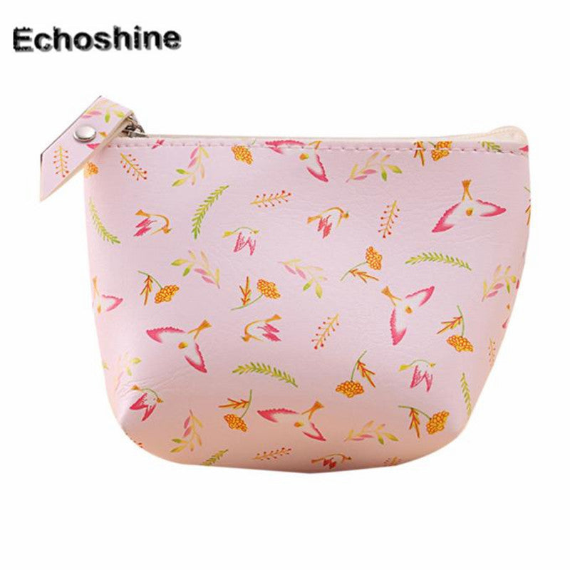 2016  hot sale  Women Girls Cute Fashion animal  flowers Coin Purse Wallet Bag Change Pouch Key Holder free shipping - Deals Blast