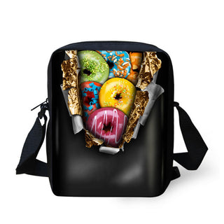 6 Colors Bags Children Fruits Printing Canvas Bags Small Design Single  Shoulder School Bags for Little 3230274ff592a