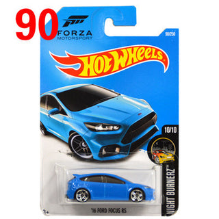 2016 Free Shipping Hot Wheels ford focus rs Car Models Metal Diecast Cars Collection Kids Toys Vehicle For Children Deals Blast