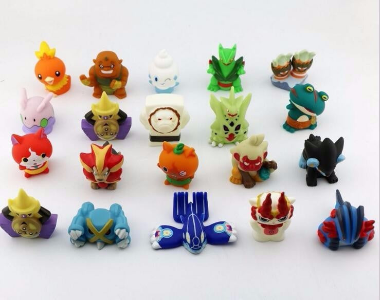 10pcs/lot Japanese Anime Yo-Kai Watch Yokai Youkai 4-5CM Action PVC Figures Kids Toys JIBANYAN SHURAKOMA SHMOOPIE - Deals Blast