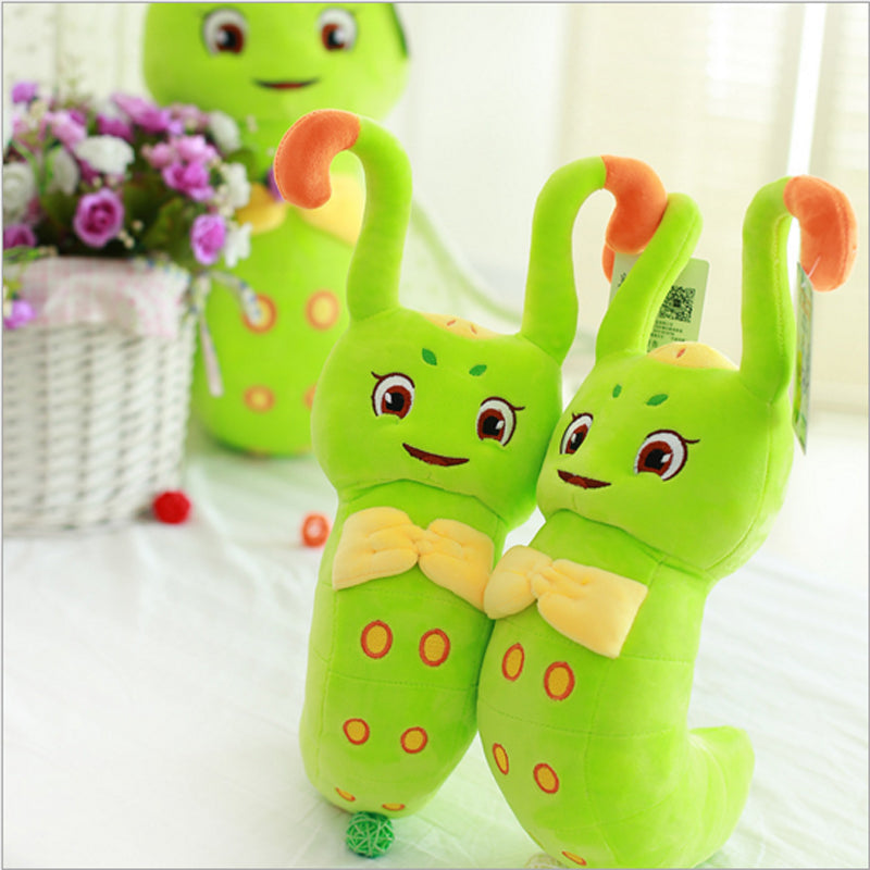 20--30CM Healer Spend One Thousand Bone Ccute Plush Doll Creative Toy Caterpillar Insect Kid Toy Gift for Children - Deals Blast