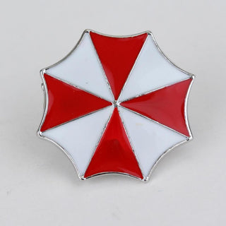 High Quality Brooch Resident Evil The Umbrella Chronicles Enamel Brooches Christmas Gifts Silver Plated Women Men Brooch Pins - Deals Blast