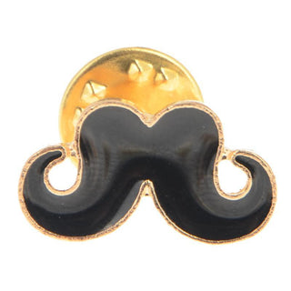5Pcs/lot Vintage Retro Brooch Rudder Anchor Moustache Beard Pin Badge Insignia Colorful Enamel Moustache Anchor Lapel Pin Brooch Deals Blast