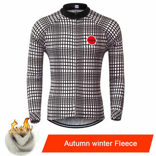 hermal Fleece Cycling Jerseys Autumn Winter Warm 2016 Pro Mtb Long Sleeve Men Bike Wear Spring Summer Cycling Clothing Deals Blast