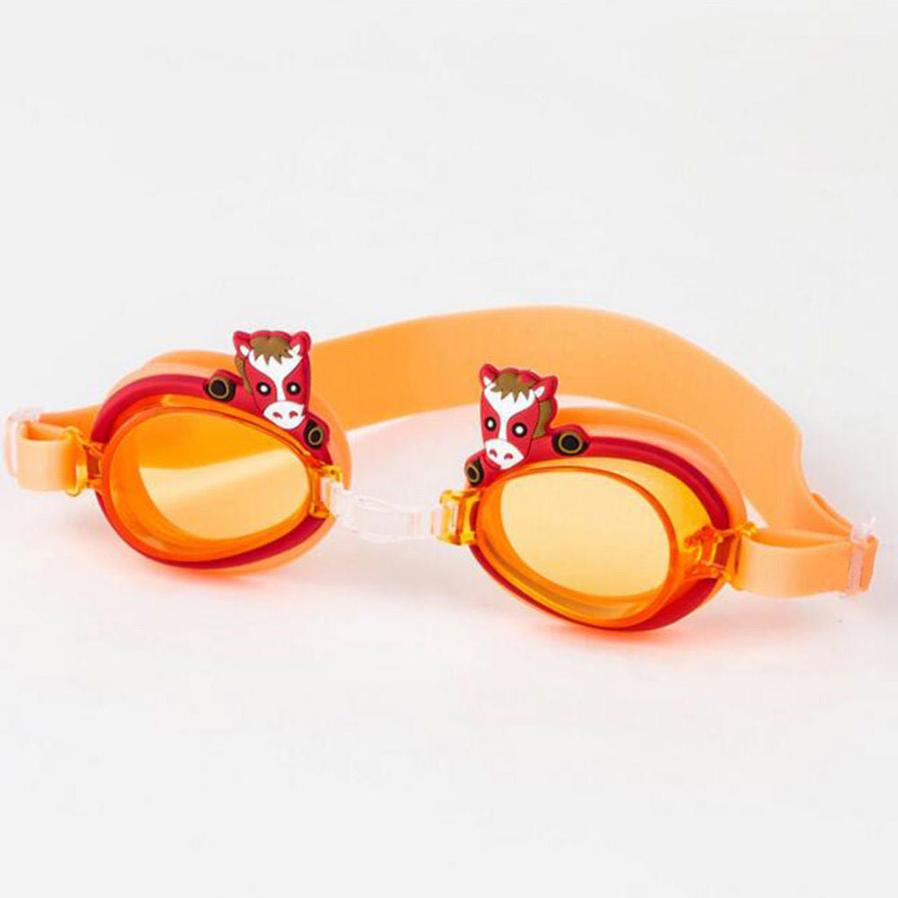 12 Colors Adjustable Children Kids Waterproof Silicone Anti Fog UV Shield Swimming Glasses Goggles Snorkel  Eyeglasses - Deals Blast