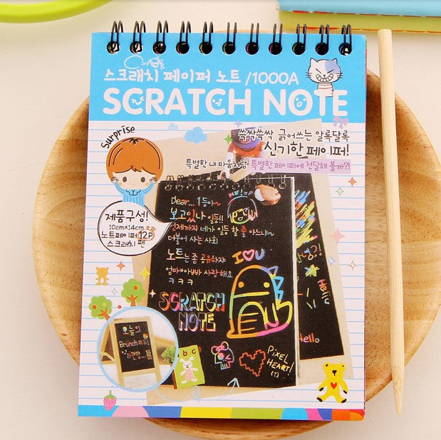 1 Pcs Cute Agenda Diary School Supplies Note Book Paper Sketch Sketchbook Notebook Korean Stationary For Kids Deals Blast