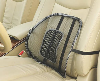 Mesh Lumbar Back Brace Support  Office Home Car Seat Chair Cushion Cool Health Care Massage Cushion - Deals Blast