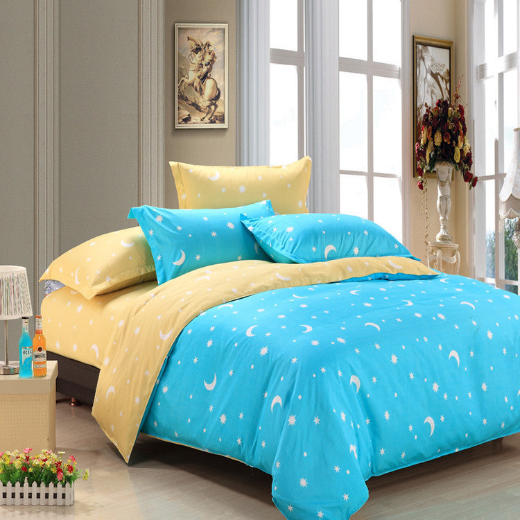 2016 Bedding-set 3/4Pcs King Size Bedding Sets Bed Sheets Duvet Cover Bedclothes Linen Colcha De Cama Bedspread No Comforter Deals Blast