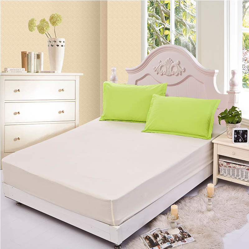 1pcs Fitted bed cover mattress cover angel heart elastic bed cover cushion cloth fitted sheet bedspraeds fitted - Deals Blast