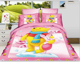 2016 children bedding set micky mouse Bedspread comforter cotton bedding sets,duvet cover,bed sheet quilt single twin full size Deals Blast