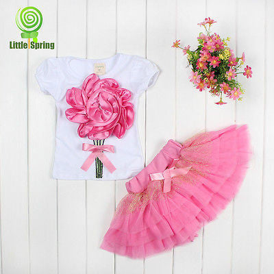 2016 Baby Kids Girls Dress Princess Party Pink Tulle Lace Gown Fancy Tutu Dress Deals Blast