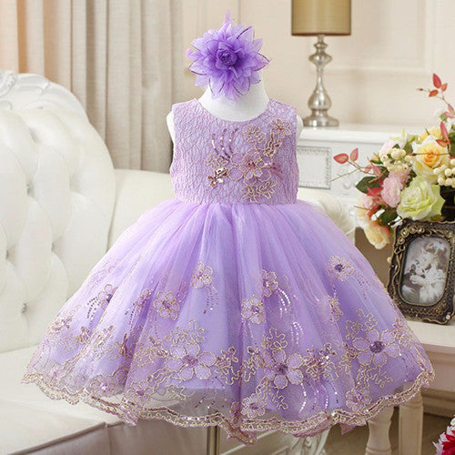 Girl Dress Party Birthday wedding princess Toddler baby Girls Christmas Clothes Children Kids Girl Dresses - Deals Blast