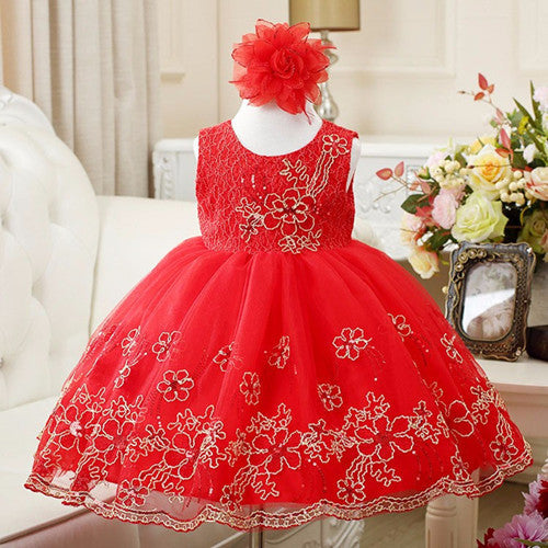 Girl Dress Party Birthday wedding princess Toddler baby Girls Christmas Clothes Children Kids Girl Dresses Deals Blast
