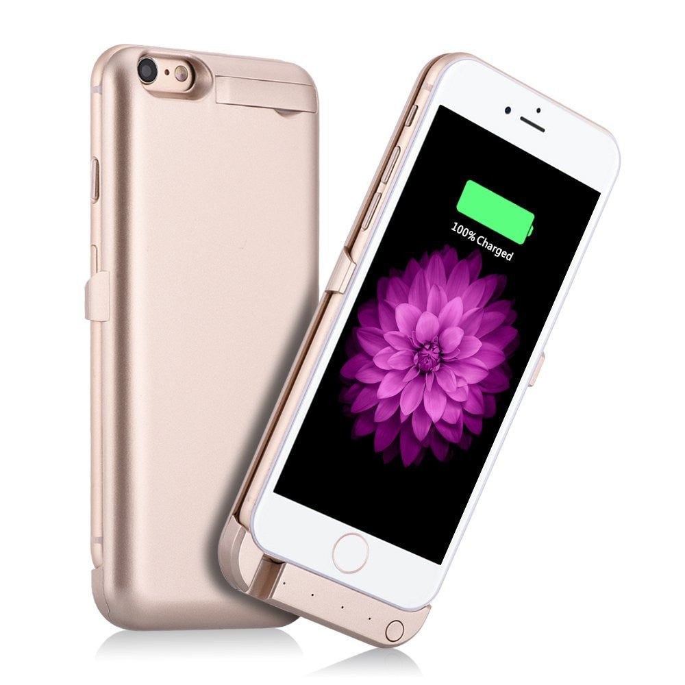 "Deals Blast: For iPhone 6 6S 4.7"" Power Case 3000mAh External Backup Battery Power bank Mobile Charger Battery Cover Cell Phone Battery Case - Deals Blast"