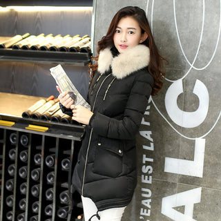 2016 Winter coat new Women Jacket Medium-Long section Down Cotton Coat thicker warm Outerwear Deals Blast