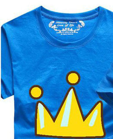1 Piece 2016 Matching Family Clothes Mother & kids T-shirt Boys Girls Crown 14 Color T Shirt Plus Size Mom & Me Father and Son - Deals Blast