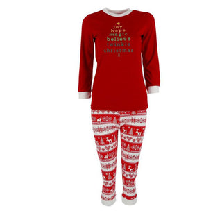 Family Matching Christmas Deer Pajamas Set Adults Baby Kids Sleepwear Nightwear Deals Blast