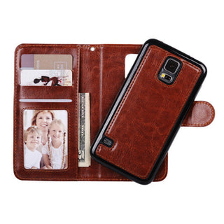 For Samsung Galaxy S7 Edge S7 S6 S6 Edge S5 Case 2 in 1 Detachable Wallet Flip Leather Phone Case Deals Blast