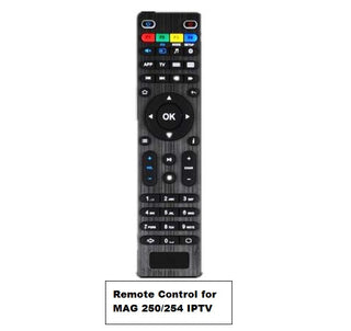 Remote control for Mag 250 Mag 254 IPTV Box Linux System TV Box Remote controller Replacement Remote Control - Deals Blast