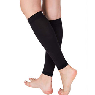 Relieve Leg Calf Sleeve Varicose Vein Circulation Compression Elastic Stocking Leg Support 1 Pair Deals Blast