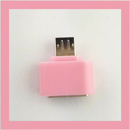 FFFAS tested Colorful Mini OTG Cable USB OTG Adapter Micro USB to USB Converter for Tablet PC Android Samsung Xiaomi HTC SONY LG Deals Blast