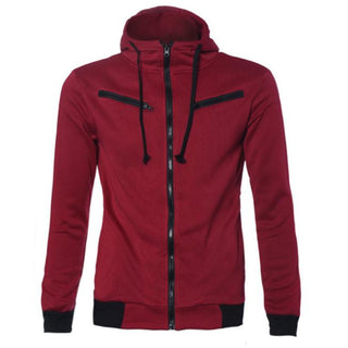Men's Stylish Warm Hooded Sweatshirt Zipper Coat Jacket Outwear Sweater Deals Blast