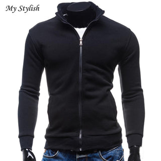 Men Fashion Casual Winter Warm Baseball Clothing Jacket Slim Outwear Overcoat Deals Blast