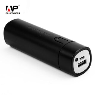 ALLPOWERS New Arrival 5000mAh Lipstick Power Bank Portable External Battery Mini Bar Phone Charger with LED light Illumination.: Deals Blast