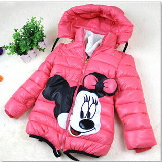New Year clothes winter girls jacket Outerwear Coat fashion jacket for girl Cotton padded purple Christmas Girls clothes - Deals Blast