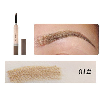 Fashion Professional Eye Brow Dye Cream Pencil Long Lasting Waterproof Brown Tint Paint Henna Eyebrow Set Makeup Kit Deals Blast