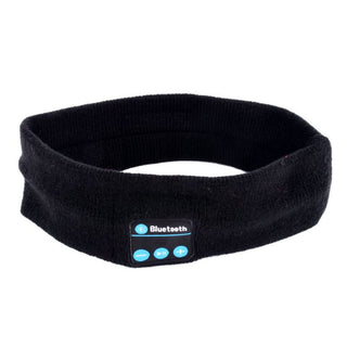 Washable Knitted Wireless Bluetooth Sports Sleeping Headband Detachable Headset Headphone Speaker Deals Blast