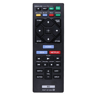 Replacement Promotion Universal TV Remote Control RMT-B126A for Sony BDP-BX520 BDP-S1200 BDP-S2200 BDP-S3200 - Deals Blast
