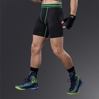 ae81e1afa New Arrivals Men Carry Buttock Thin Leggings Fast Drying Slimming  Compression Knee Length Pants Body Shaper