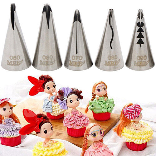 Stainless Steel Icing Pipe Cake Decor Sugarcraft DIY Tool Bakeware Nozzle Tip - Deals Blast