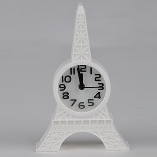 Brand New Creative Eiffel Tower Digital LCD Snooze Alarm Clock Belfry relogio de mesa reloj despertador 6 Colors Free Shipping Deals Blast