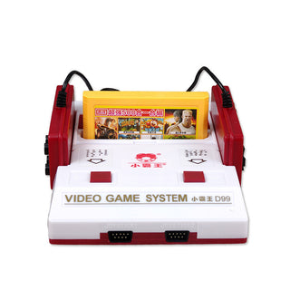 Nostalgic Video Game Console to TV FC Classic Cassette Family TV Game Console Player with Yellow Game Card Card - Deals Blast
