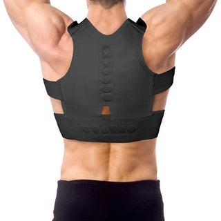 Back Support Posture Correction Men Corset Back Brace Orthopedic Lumbar Shoulder Postural Correction Belts Adjustable Deals Blast