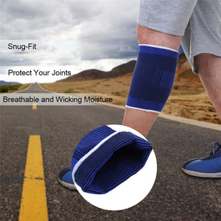 Blue Knee Pads Knee Support Brace Leg Arthritis Injury Sleeve Elasticated Bandage Elbow Pad Kneepads outdoor sports supply Deals Blast