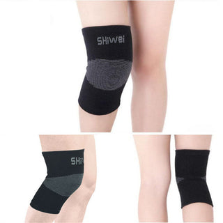 Sexy Gym Knee Protector Sports Tendon Training Elastic Knee Brace Supports Deals Blast