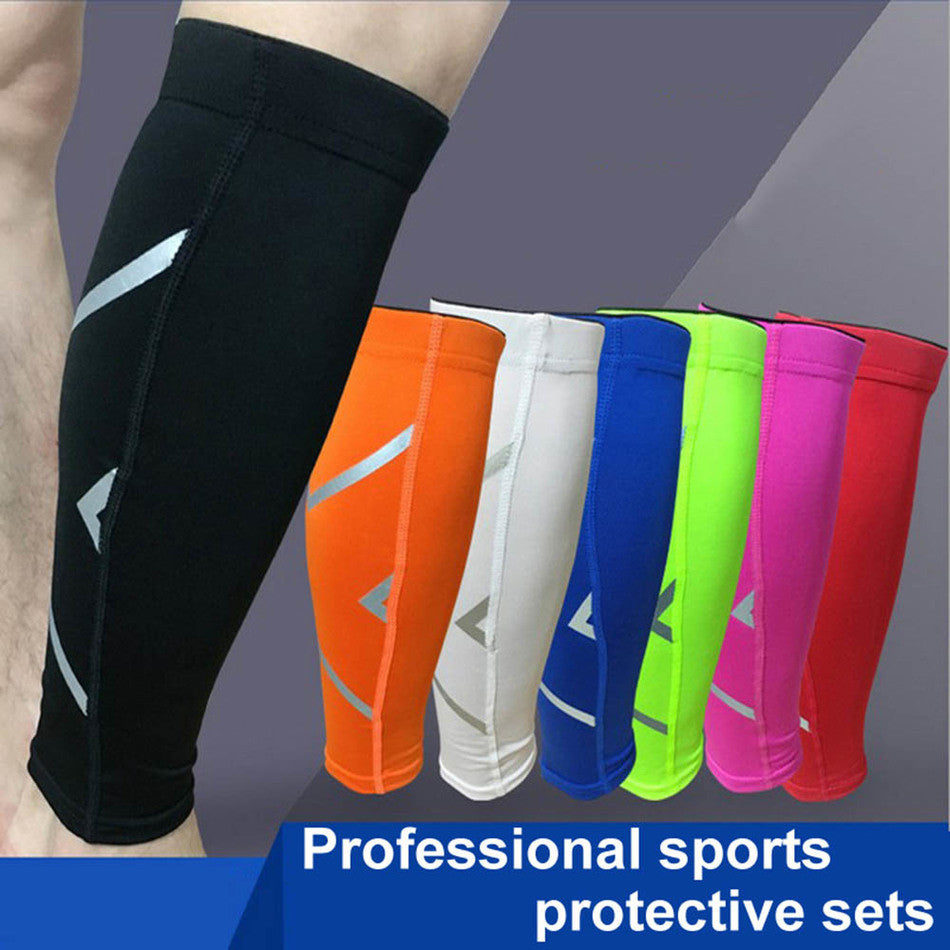 1PC Breathable Elastic Leg Sleeves Sport Cycling Warmers Knee Support Brace Kneepad Protector Safety Guard Basketball Free Size Deals Blast