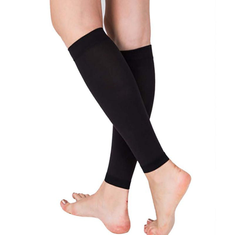 1 Pair Relieve Leg Calf Sleeve Varicose Vein Circulation Compression Elastic Stocking Leg Support For Womens 20-30 mmhg Deals Blast