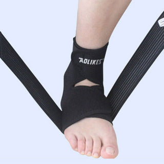 Adult Ankle Braces Black Ankle Support Brace Ankle Pad for Football Climbing Sports 1pcs New: Deals Blast