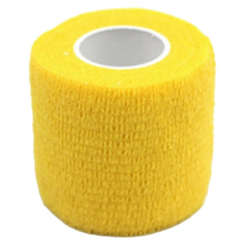 1 Roll Kinesiology Sports Health Muscles Care Physio Therapeutic Tape 4.5m*5cm, Yellow Deals Blast