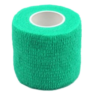 1 Roll Kinesiology Sports Health Muscles Care Physio Therapeutic Tape 4.5m*5cm, Green - Deals Blast