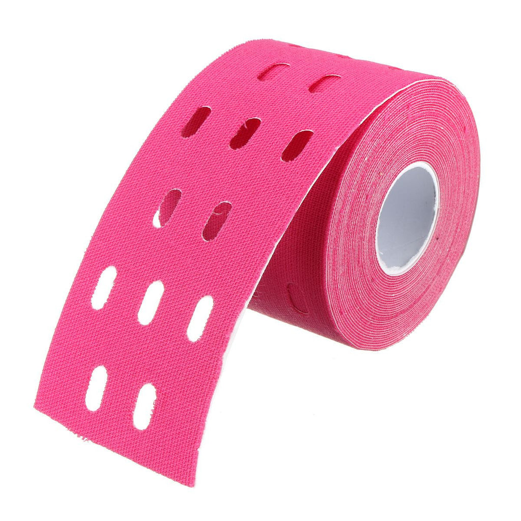 1 Roll 5m * 5cm Fitness Sport Elastic Adhesive Tape Bandage Kinesiology Muscles Sports Care Elastic Physio Therapeutic Tape Deals Blast
