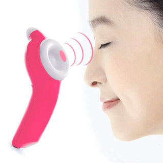 Eye Massager Nearsightedness Prevention Electric Massage Health Care Masajeador Fisioterapia Massageador Corporal Rose Red - Deals Blast